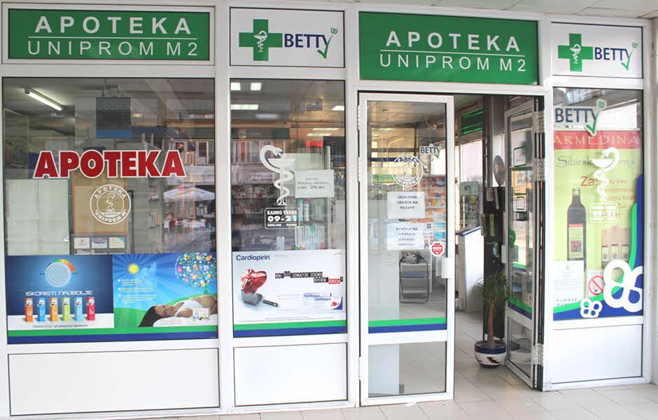 apoteka uniprom m2